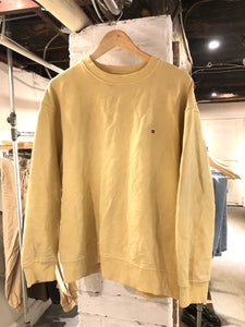 Yellow Tommy Crewneck