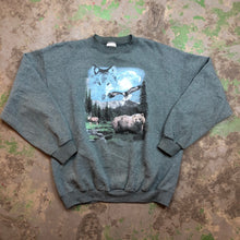 Load image into Gallery viewer, Vintage wolf Crewneck