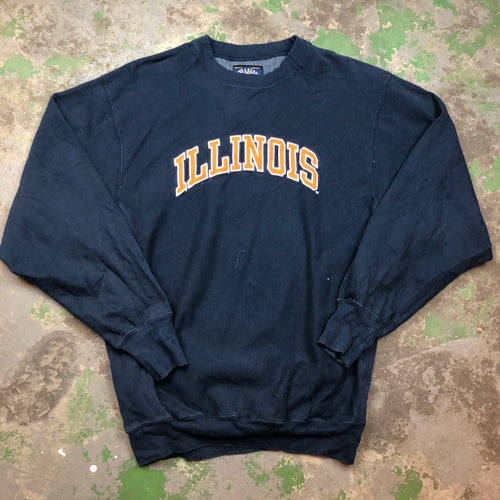 Illinois varsity Crewneck