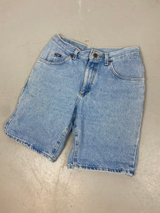 90s high waisted Lee denim shorts