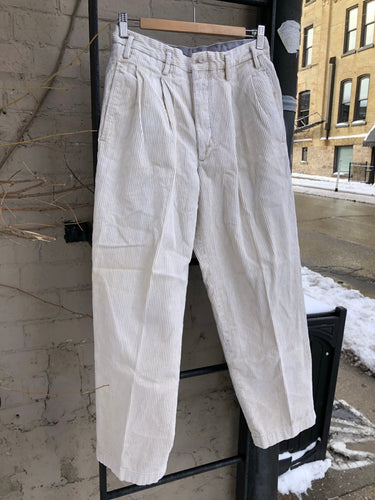 Off White Creme Pants
