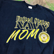 Load image into Gallery viewer, 90s Navy mom Crewneck