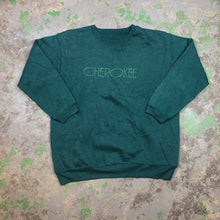 Load image into Gallery viewer, Embroidered Cherokee Crewneck
