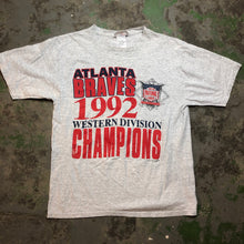 Load image into Gallery viewer, 1992 braves t shirt