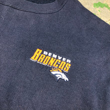 Load image into Gallery viewer, Embroidered Broncos Crewneck