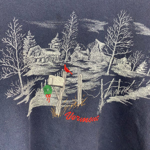 Embroidered Vermont crewneck