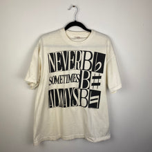 Load image into Gallery viewer, 90s Never B Flat, Sometimes B Sharp, Always B Natural music shirt