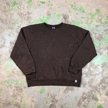 Load image into Gallery viewer, Brown Russell blank crewneck