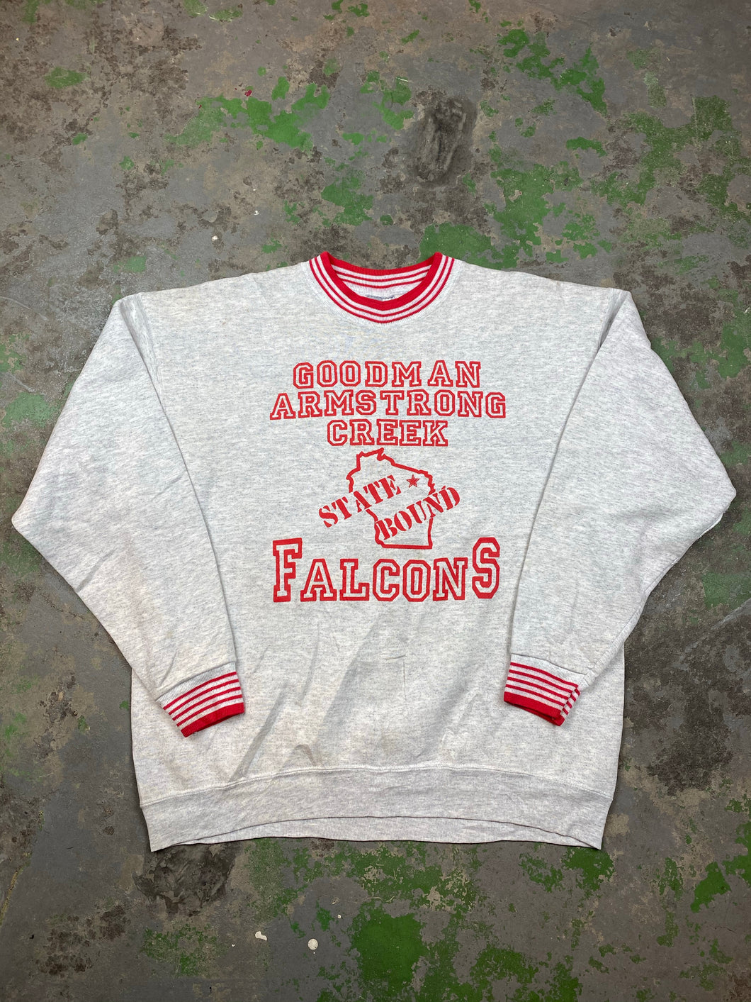 90s front and back Goodman crewneck