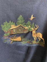 Load image into Gallery viewer, Vintage embroidered Deer crewneck