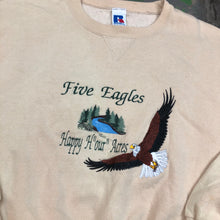 Load image into Gallery viewer, Embroidered eagle Crewneck