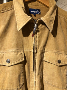 Full Zip Cord Shirt