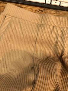 Tanned Pleated Pants