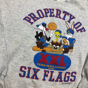 1996 Six Flags Crewneck