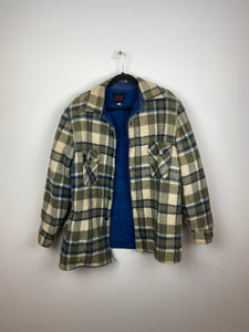 Heavy lined flannel jacket