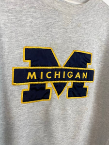 Vintage embroidered Michigan crewneck