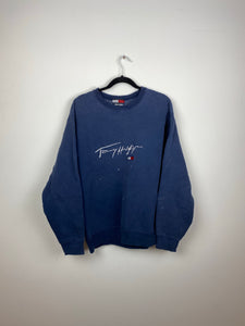 Vintage embroidered Tommy crewneck