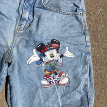 Load image into Gallery viewer, 90s Mickey Denim
