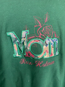 Embroidered Mom crewneck