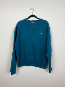 Teal champion crewneck
