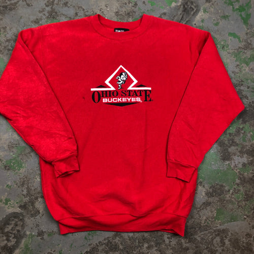 Embroidered Ohio state Crewneck