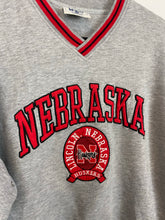 Load image into Gallery viewer, 90s Nebraska v neck crewneck