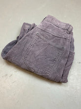 Load image into Gallery viewer, Vintage stone wash purple corduroy pants