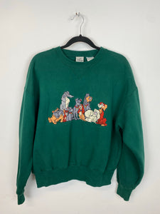 Vintage Lady And The Tramp Crewneck - XS / S