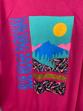Load image into Gallery viewer, 80s Blue Ridge Parkway crewneck - M/L