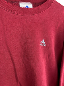90s embroidered adidas crewneck