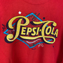 Load image into Gallery viewer, 90s Pepsi crewneck