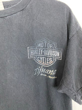 Load image into Gallery viewer, Faded front and back Harley Davison t shirt