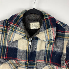 Load image into Gallery viewer, Heavy full zip flannel jacket