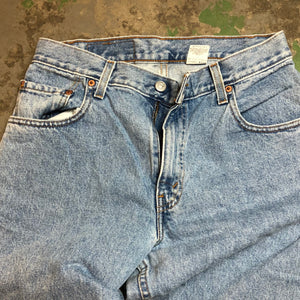 High waisted Levi's denim pants