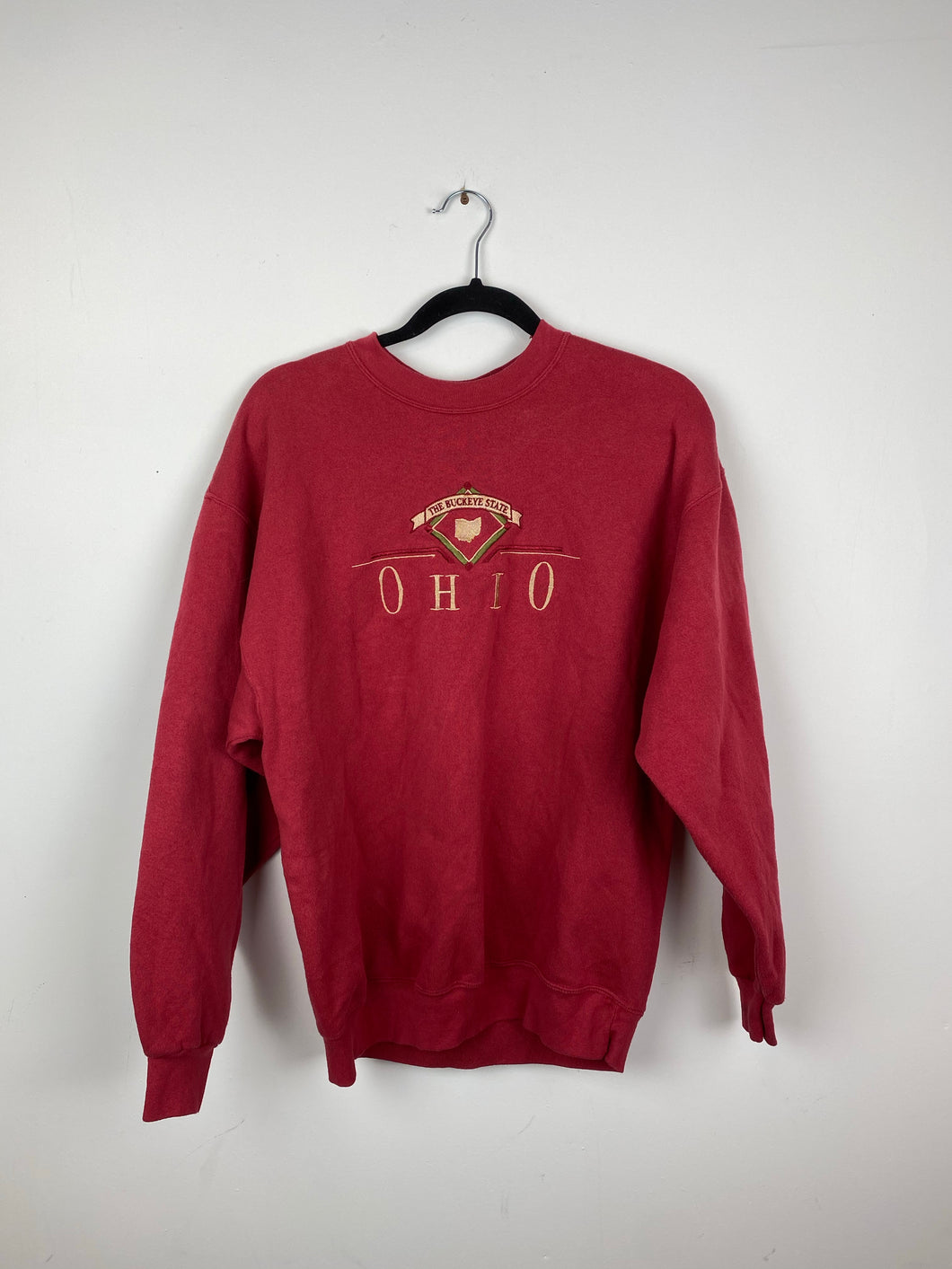 Embroidered Ohio crewneck