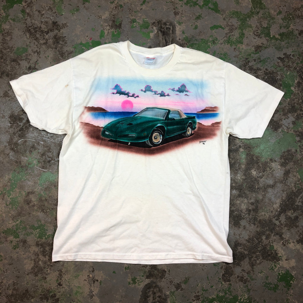 90s air brushed t shirt