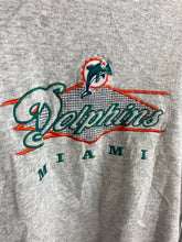 Load image into Gallery viewer, 90s embroidered Miami dolphins crewneck