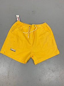 90s Cotton adjustable athletic shorts - 28in
