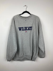 Oversized Wildcats middle check Nike crewneck