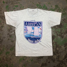 Load image into Gallery viewer, Paper thin yacht club t shirt