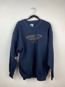 Embroidered Minnesota crewneck