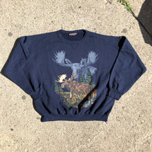 Load image into Gallery viewer, Vintage moose Crewneck