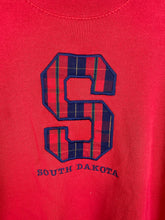 Load image into Gallery viewer, Mockneck embroidered South Dakota crewneck