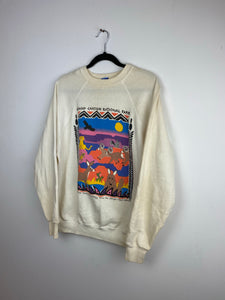 1980s national park crewneck