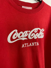 Load image into Gallery viewer, Embroidered Coca Cola crewneck