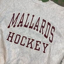 Load image into Gallery viewer, 90s heavy weight Mallards hockey Crewneck