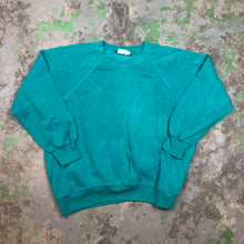 Load image into Gallery viewer, 80s teal Crewneck