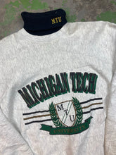 Load image into Gallery viewer, Michigan tech turtleneck crewneck
