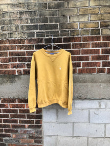 Mustard Champion Crewneck Medium