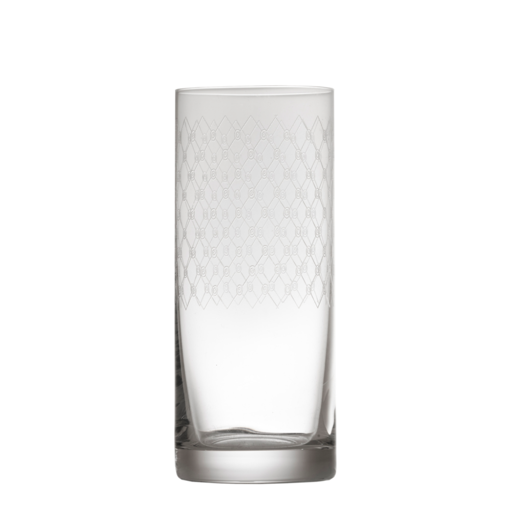 Fishnet Engraved Tall Tumbler